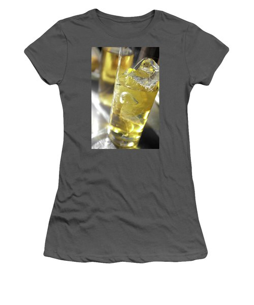 Women's T-Shirt (Junior Cut) featuring the photograph Fresh Drink With Lemon by Carlos Caetano