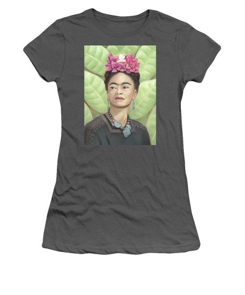 Frida Kahlo Women's T-Shirt (Athletic Fit)
