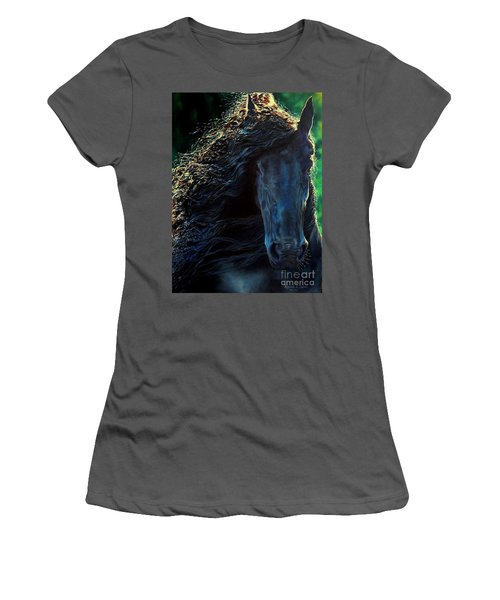 Friesian Glimmer Women's T-Shirt (Athletic Fit)