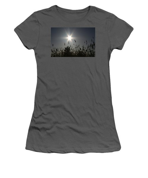 Women's T-Shirt (Junior Cut) featuring the photograph From Where I Sit by Holly Ethan