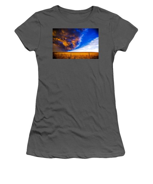 Front At Sunset 2 Of 2 Women's T-Shirt (Athletic Fit)