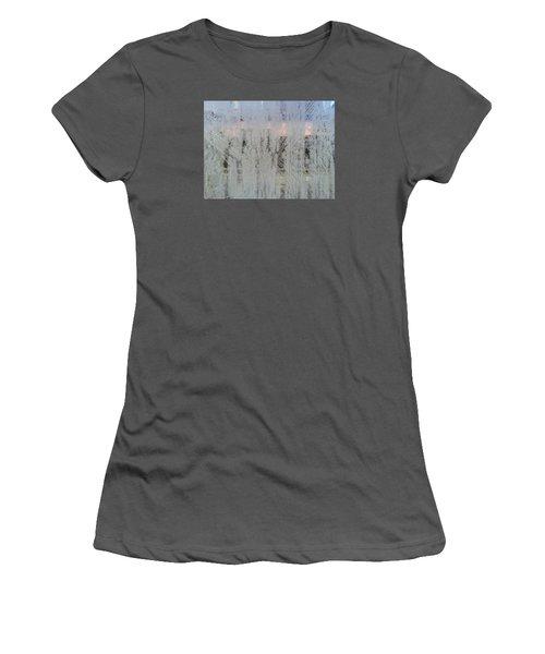 Frozen Window Women's T-Shirt (Athletic Fit)