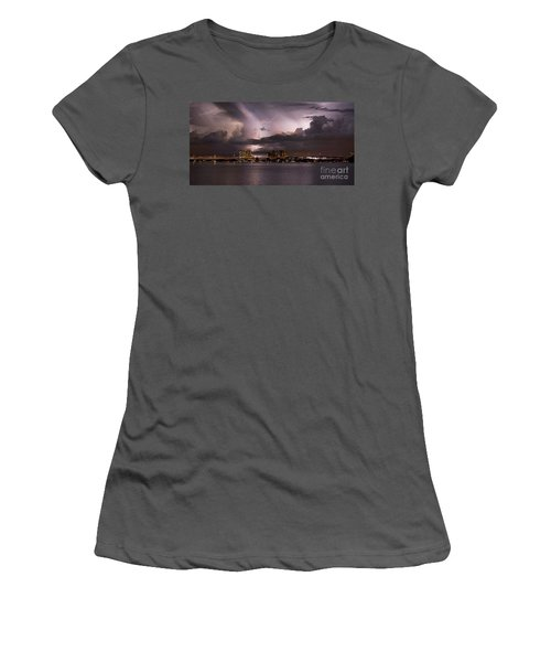Ft Myers Nights Women's T-Shirt (Athletic Fit)