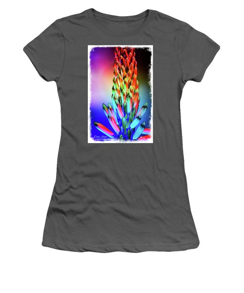 Funky Aloe Women's T-Shirt (Athletic Fit)