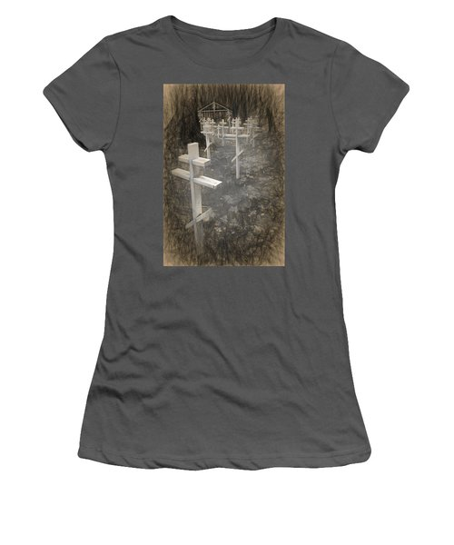 Funter Bay Markers Women's T-Shirt (Athletic Fit)