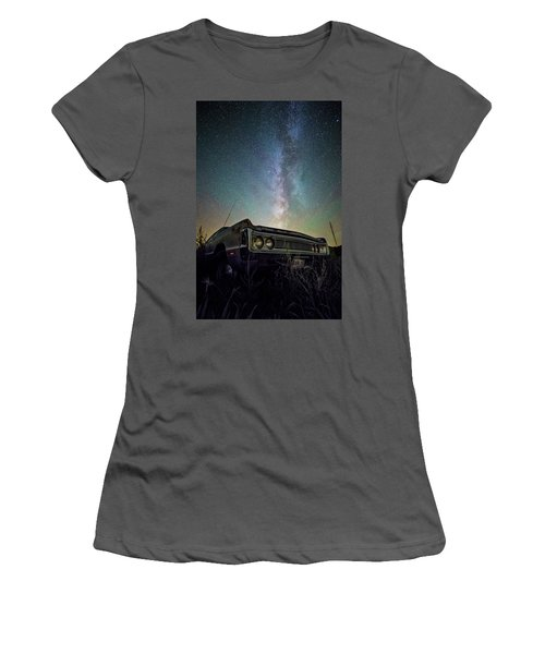 Women's T-Shirt (Athletic Fit) featuring the photograph Fury by Aaron J Groen