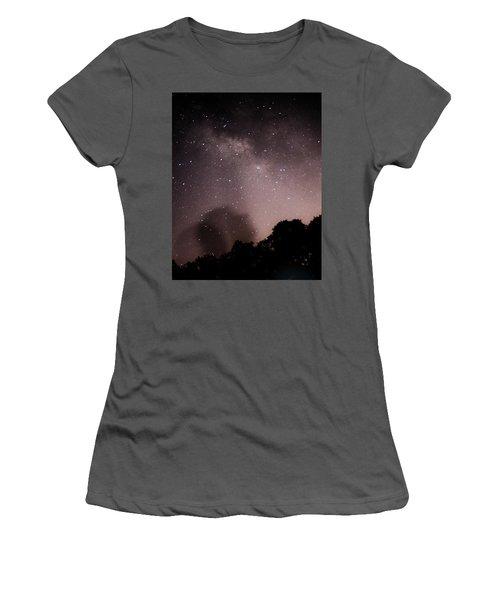 Galaxy Beams Me Women's T-Shirt (Junior Cut) by Carolina Liechtenstein