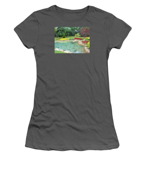 Garden At Epcot Women's T-Shirt (Athletic Fit)