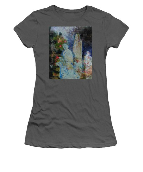 Garden Of Good And Evil Women's T-Shirt (Athletic Fit)