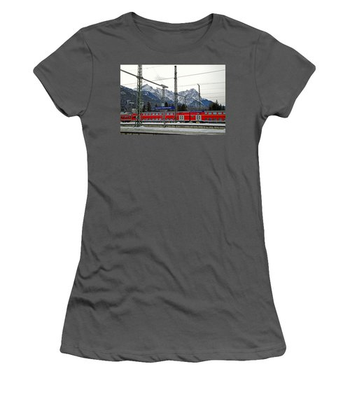Garmisch-partenkirchen In Winter Women's T-Shirt (Athletic Fit)