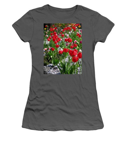 Gathering Of Joy Women's T-Shirt (Athletic Fit)
