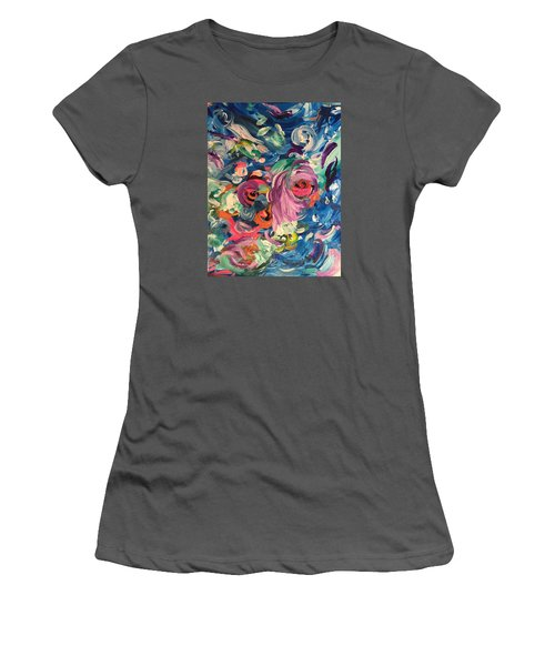 Gaze Of Lynx Women's T-Shirt (Athletic Fit)