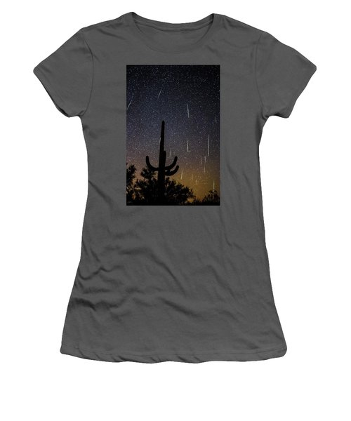 Geminid Meteor Shower #2, 2017 Women's T-Shirt (Athletic Fit)