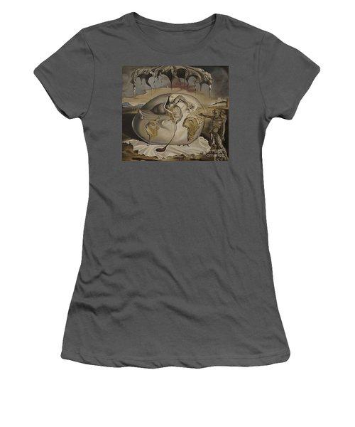Dali's Geopolitical Child Women's T-Shirt (Athletic Fit)
