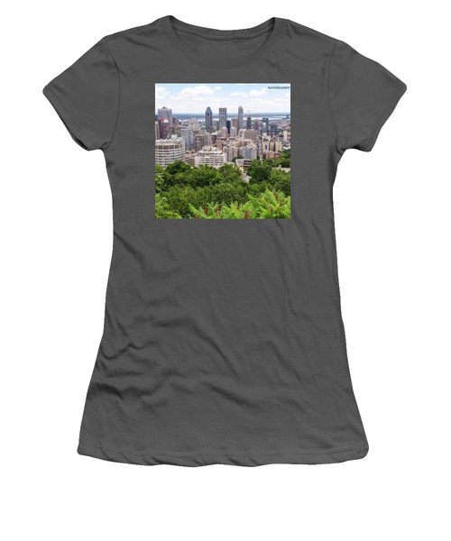 Getting My #fitbit Steps In And Women's T-Shirt (Athletic Fit)