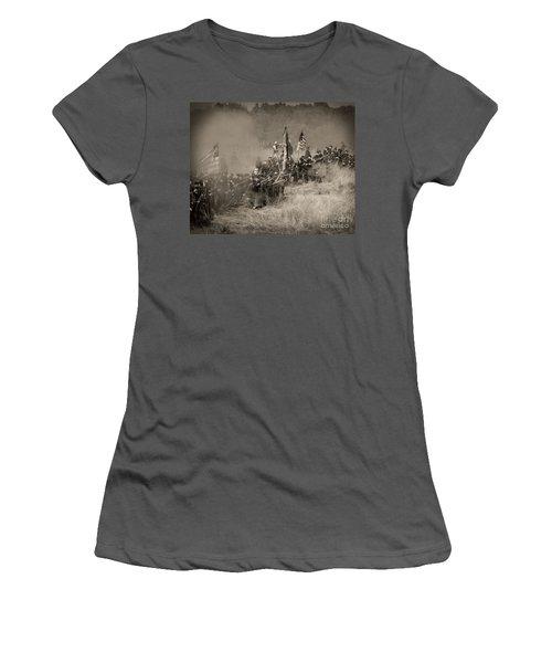 Gettysburg Union Infantry 8947s Women's T-Shirt (Athletic Fit)