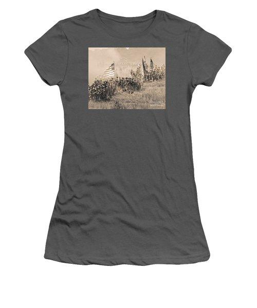 Gettysburg Union Infantry 8948s Women's T-Shirt (Athletic Fit)