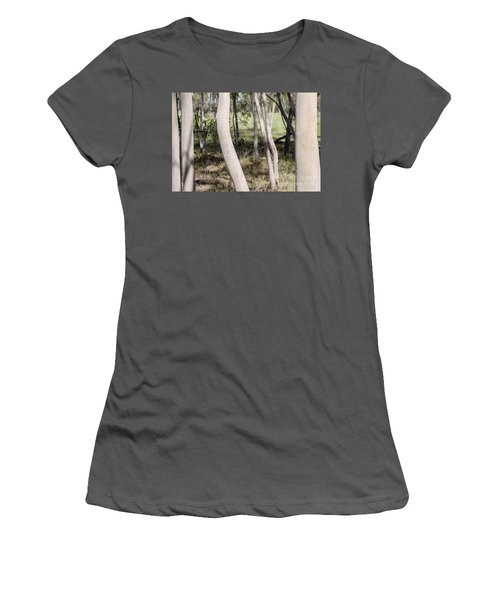 Women's T-Shirt (Athletic Fit) featuring the photograph Ghostly Gums by Linda Lees