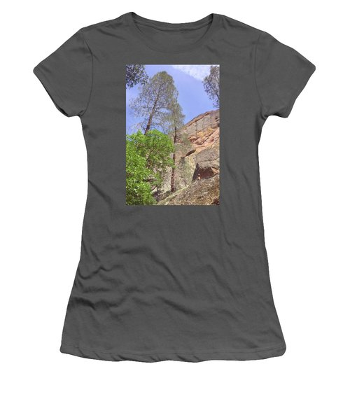 Women's T-Shirt (Junior Cut) featuring the photograph Giant Boulders by Art Block Collections