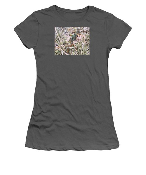 Giant Grasshopper Women's T-Shirt (Athletic Fit)