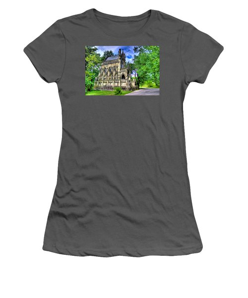 Giant Spring Grove Mausoleum Women's T-Shirt (Athletic Fit)