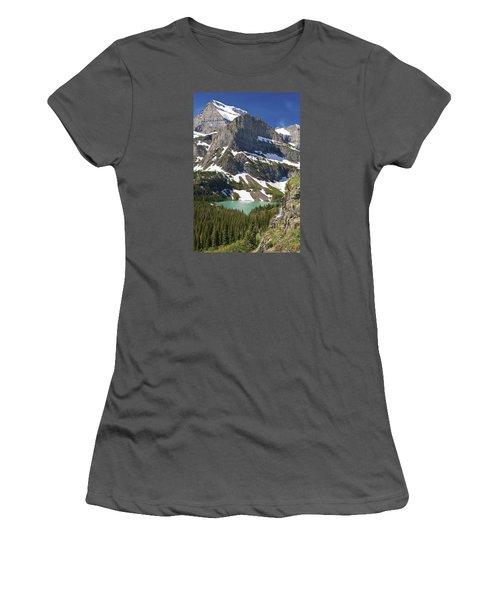 Glacier Backcountry Women's T-Shirt (Junior Cut) by Gary Lengyel
