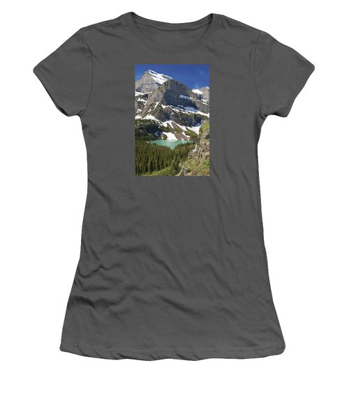 Glacier Backcountry Women's T-Shirt (Athletic Fit)