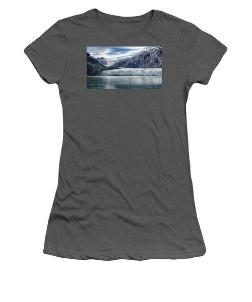 Glacier Bay Alaska Women's T-Shirt (Junior Cut) by Gary Warnimont