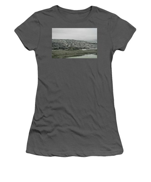 Glacier In Iceland Women's T-Shirt (Athletic Fit)