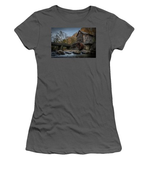 Glade Creek Water Wheel Women's T-Shirt (Athletic Fit)