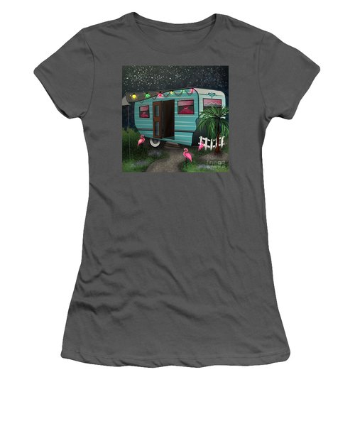 Glamping Women's T-Shirt (Athletic Fit)