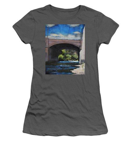 Glendale Bridge Women's T-Shirt (Athletic Fit)