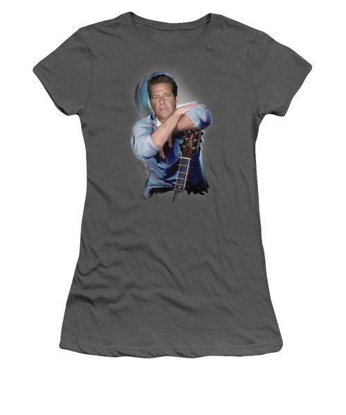 Glenn Frey Women's T-Shirt (Athletic Fit)