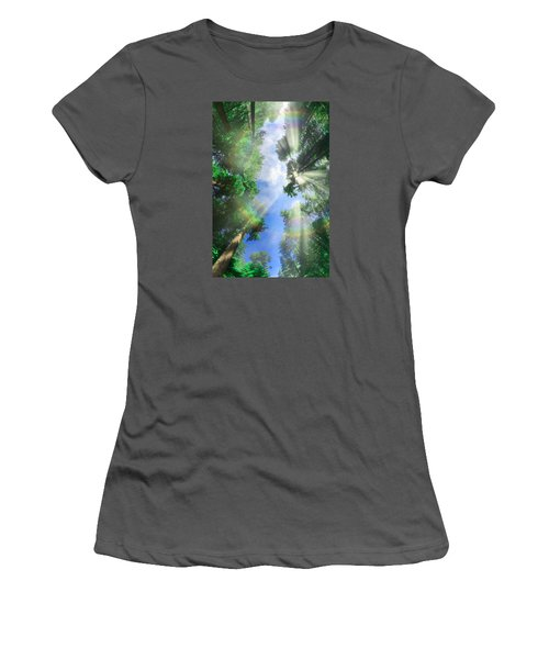 Glory Amongst Redwoods Women's T-Shirt (Athletic Fit)