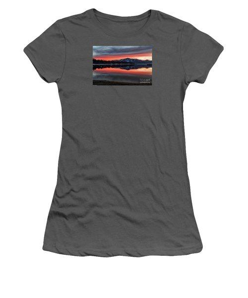 Glow Women's T-Shirt (Junior Cut) by Mitch Shindelbower