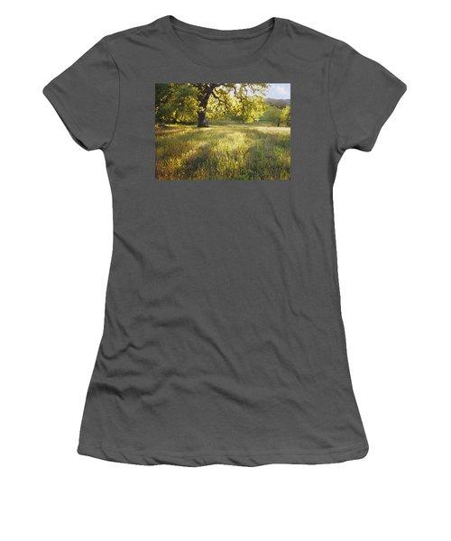 God Light Women's T-Shirt (Athletic Fit)
