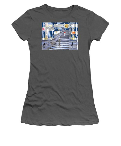 Goddess Enters Women's T-Shirt (Athletic Fit)