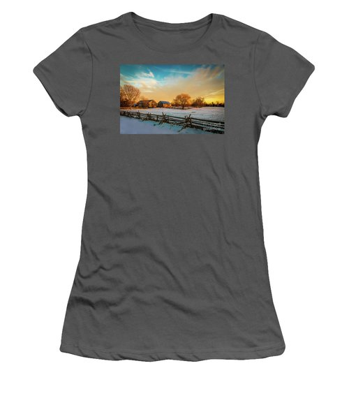 Golden Hour Women's T-Shirt (Athletic Fit)