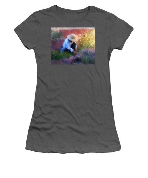 Golden Light Women's T-Shirt (Athletic Fit)