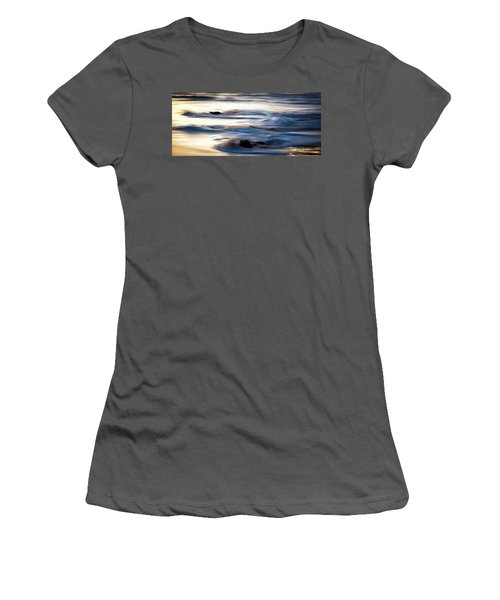 Golden Serenity Women's T-Shirt (Athletic Fit)