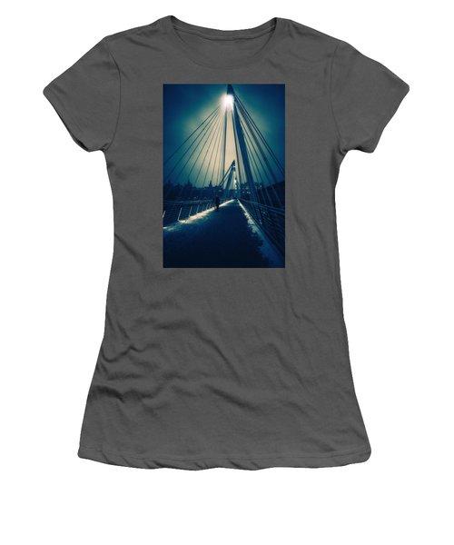 Golden Snow Women's T-Shirt (Athletic Fit)