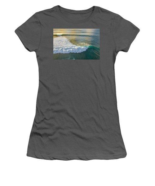 Golden Trails Women's T-Shirt (Athletic Fit)