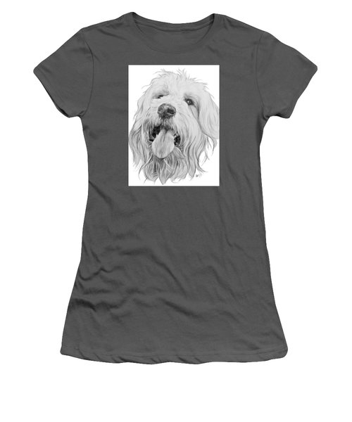 Goldendoodle Women's T-Shirt (Athletic Fit)