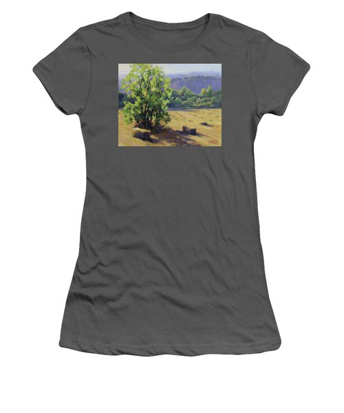 Good Day's Work Women's T-Shirt (Junior Cut) by Karen Ilari