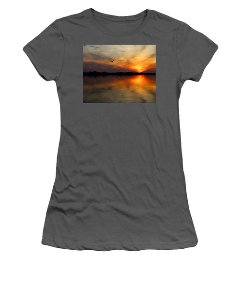 Good Morning Women's T-Shirt (Junior Cut) by Judy Vincent