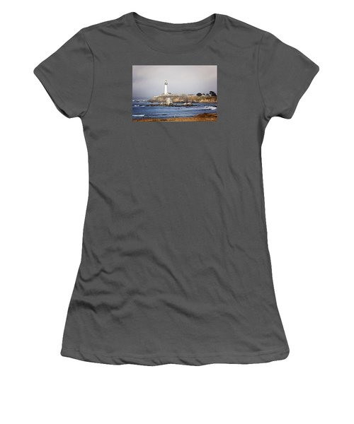 Good Morning Pigeon Point Women's T-Shirt (Athletic Fit)
