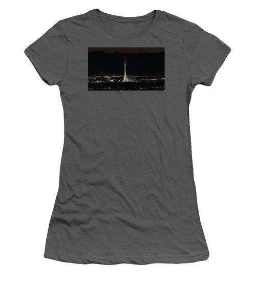 Good Night Women's T-Shirt (Junior Cut) by Michael Rogers