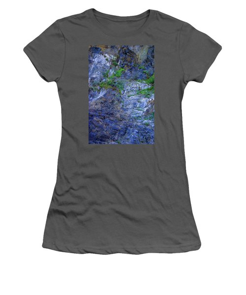 Women's T-Shirt (Junior Cut) featuring the photograph Gorge-2 by Dale Stillman