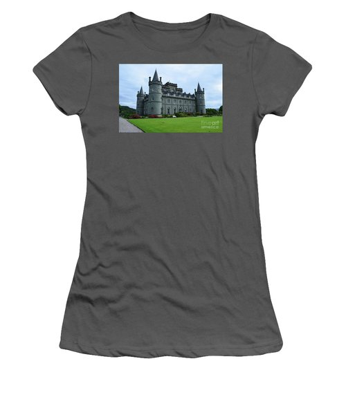 Gorgeous View Of Inveraray Castle Women's T-Shirt (Athletic Fit)
