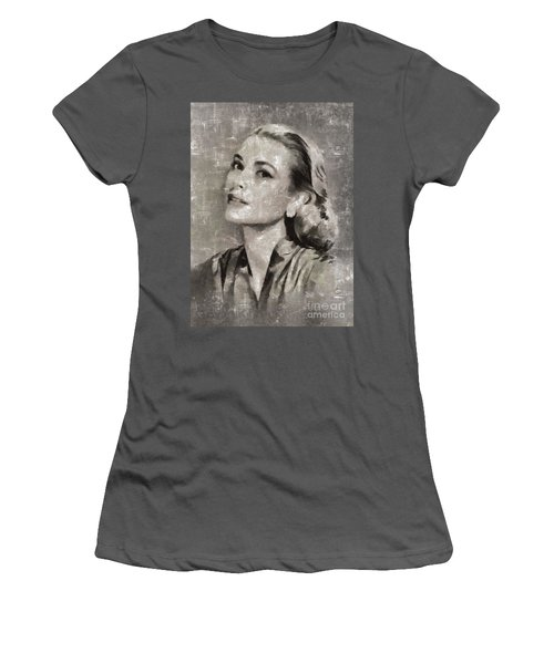 Grace Kelly By Mary Bassett Women's T-Shirt (Athletic Fit)